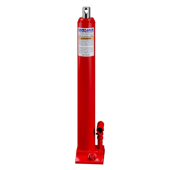 3-Ton Hydraulic Long Ram Utility Jack/ Power Unit w/ Cross Hole