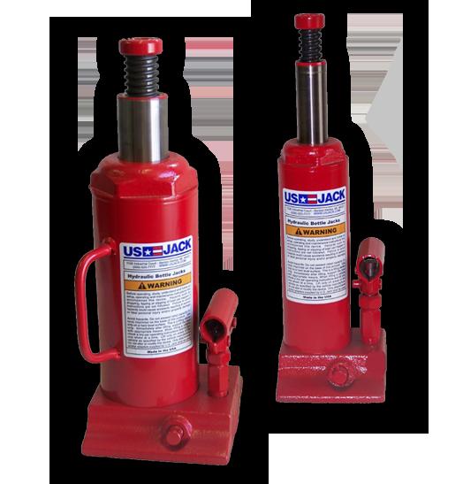 Hi-Range Hydraulic Bottle/ Hand Jacks