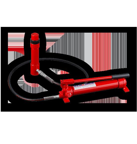 Hydraulic Pump, Hose, & Ram Assemblies